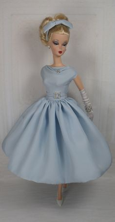 Blue Valentine for Silkstone Barbie and by MatisseFashions on Etsy