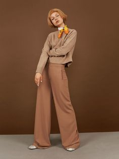 10 things you need to know about becca breymas   Sweater Marni. Pants Rodebjer. Scarf Moschino. Shoes Carin Wester