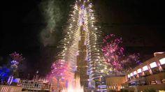 Burj Khalifa Fireworks | Dubai 2017 | UAE | برج خليفة النارية  | دبي - YouTube