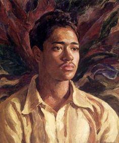 Hawaiian Boy (Abraham Kamahoahoa) : Mabel Alverez