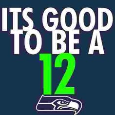 It's this time of year again... GO Seahawks.