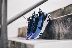 "Get the Nike React Element 55 ""Laser Fuchsia"" 50% off for only $69.99 (Retail $140) here!  #KicksLinks #Sneakers #Nike #Deal Black Accents, Kicks, Sneakers Nike, Web Magazine, Fence, Retail, Shoes, Live, Style"