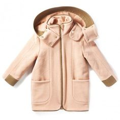 Daily dose of cuteness by Chloé http://www.littlefashiongallery.com/fr/mode-enfant/chloe/manteau-rose-the-pale-pink-chloe-kids-h13/