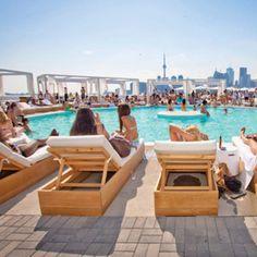 Cabana Pool Bar #torontonightlife #torontonightclubs #toronto