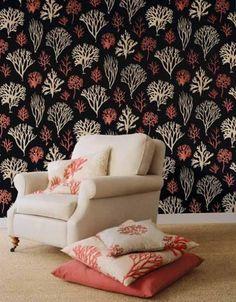 Matching wallpaper