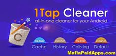 Free Download 1Tap Cleaner Pro 3.22 (clear cache history call log) Apk for Android   Free Download 1Tap Cleaner Pro (clear cache history call log)is a Tool application for android  Download last version of Free Download1Tap Cleaner Pro(clear cache history call log) Apk for Androidfrom MafiaPaidApps with direct link  1-Tap to clean all cache search histories calls log defaults settings and SD card.  Are you running out of application storage? You now can get more available storage space by…