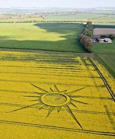 Crop Circle Rutlands Farm, nr Avebury, Wiltshire_ Reported 23rd April 2009 by kylepounds2001, via Flickr