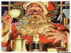 Vintage Santa Claus - Santa Claus - Vintages Cards - Christmas Wallpapers, Free ClipArt for Xmas, Icon's, Web Element, Victorian Christmas Photos and Vintage Santa Claus pictures Noel Christmas, Victorian Christmas, Father Christmas, Retro Christmas, All Things Christmas, Christmas Crafts, Christmas Coffee, Irish Christmas, Christmas Ideas