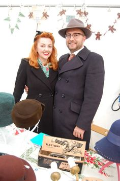 Mr and Mrs Lewis came with their lovely shop - Tied up with String