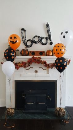 Customize An Arrangement Of Halloween Themed Balloons And Well Deliver Them Helium