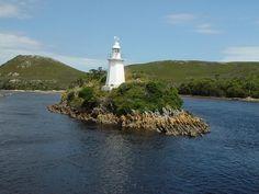 Hells Gate #Lighthouse, West Coast #Tasmania. Photo by Dan Fellow, article for think-tasmania.com Gold Coast Australia, Lighthouse Photos, Tasmania, Lighthouses, West Coast, Wilderness, Gate, Most Beautiful, Beautiful Places