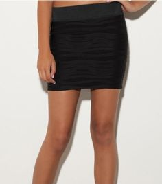G by GUESS Zelly Textured Skirt G by GUESS. $14.98
