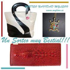 Sorteo Navidad, un sorteo BESTIAL  participa en www.blog-de-moda.myleov.es #sorteo #myleov #moda #bolsos #collar #promo #regalo #tiendasonline