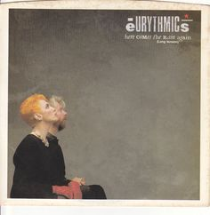 """Eurythmics / Here Comes The Rain Again / Paint A Rumour / 7"""" Vinyl 45 Record & Picture Sleeve #AnnieLennox"""