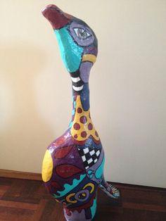 """""""fantasy-bird"""" voor Thérèse"""