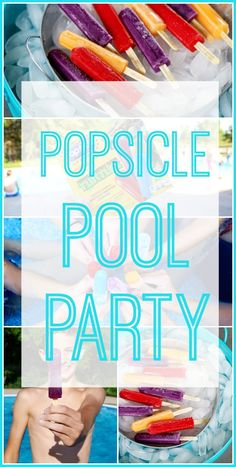 Popsicle Pool Party, such a fun idea!! #ad - Sugar Bee Crafts