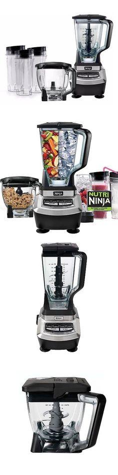 small kitchen appliances: ninja master prep blender food processor