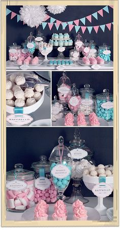 Candy Buffet 101 - Guide. Great website for candy bar panning!