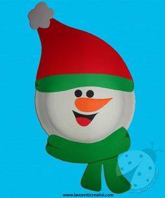 Lavoretti Natale – Pupazzo di neve