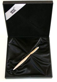 Attualmente nelle aste di  Catawiki  Montblanc Mesteisterstuck Solitaire  Ballpoint Pen - Solid Sterling 925 1791fa2f7da