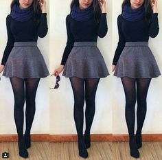 Modest But Classy Skirt Outfits Ideas Suitable For Fall awesome 49 Modest But Classy Skirt Outfits Ideas Suitable For Fall /.awesome 49 Modest But Classy Skirt Outfits Ideas Suitable For Fall /. Komplette Outfits, Casual Outfits, Fashion Outfits, Fashion Ideas, Night Outfits, Outfits Fiesta, Fashion Skirts, Girly Outfits, Fashion 2018