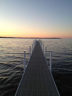 Dock at Sunset in Michigan Summer Is Here, Summer 2014, Summer Time, Suttons Bay, Traverse City Michigan, Dock Of The Bay, And So The Adventure Begins, Northern Michigan, Great Lakes