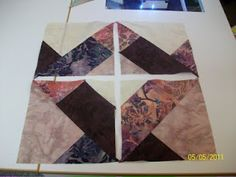 Maggie May quilts: Disappearing nine patch...with a twist.