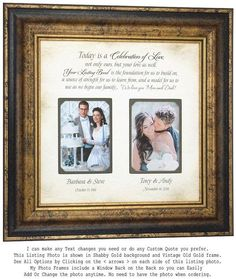 Check out Wedding Gift for Parents, Parents Wedding Gift, Parents of the Bride Gift, Parents of the Groom Gift, on photoframeoriginals Thank You Gift For Parents, Wedding Gifts For Parents, Wedding Thank You Gifts, Wedding Gifts For Groom, Personalized Wedding Gifts, Bride Gifts, Gift Wedding, Wedding Cake, Rustic Wedding