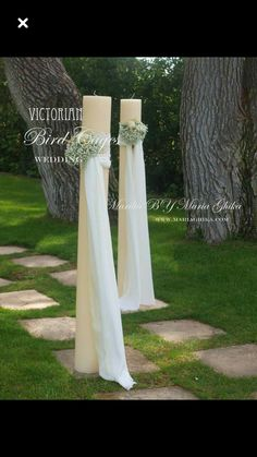 Make with pvc pipe with led candles on top Sage Wedding, Wedding Set Up, Art Deco Wedding, Wedding Story, Dream Wedding, Wedding Trends, Wedding Designs, Wedding Styles, Wedding Flower Arrangements
