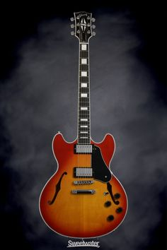 Gibson Midtown Custom (Heritage Cherry Sunburst) | Sweetwater.com  One day I will buy this, just need to save up..