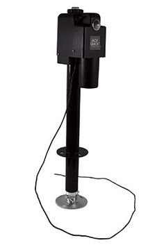 Jack Quick 3500 Electric Tongue Jack with single Lights, 3650 lb. Capacity / Black - All Items In Tools And Home Improvement Category Today Interest Led Work Light, Work Lights, Night Light, Best Electric Car, Electric Cars, Plastic Gears, Vinyl Cover, Expensive Cars, The Ordinary