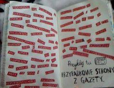 Podesłała Alicja Skrzypczyńska #zniszcztendziennikwszedzie #zniszcztendziennik #kerismith #wreckthisjournal #book #ksiazka #KreatywnaDestrukcja #DIY