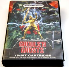 Ghouls 'n Ghosts  (Genesis, 1989) TESTED SEGA !