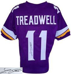 Laquon Treadwell Signed Custom Pro-Style Purple Football Jersey JSA