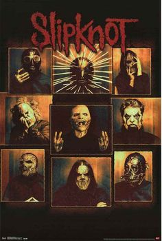 An awesome poster for any fan of Slipknot! Features creepy portraits of the band. Fully licensed - 2015. Ships fast. 22x34 inches. Need Poster Mounts..? su4468 td14468