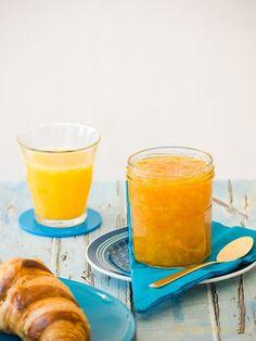 """Recept voor zoete sinaasappeljam zonder schil en van """"gewone"""" sinaasappels./ Recipe Orange Jam. Photography: © Gitta Polak for www.tastyshot.nl"""
