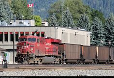 RailPictures.Net Photo: CP 8842 Canadian Pacific Railway GE ES44AC at Revelstoke, British Columbia, Canada by Colin Arnot