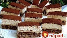 A legfinomabb sütim lett Hungarian Desserts, Hungarian Recipes, Czech Recipes, Ethnic Recipes, Eat Pray Love, Desert Recipes, Cake Cookies, Nutella, Oreo