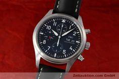 IWC Fliegeruhr Chronograph Stahl Automatik Kal. 79320 Ref. IW371701  | 152529