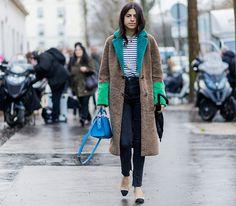 Неделя моды в Париже, осень-зима 2016: street style. Часть 2 (фото 24)