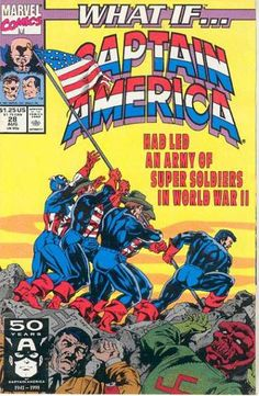 What if Captain America lead an army of Super Soldiers in World War II?