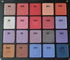 INGLOT Freedom System Eyeshadow Swatches - Only 140 Of Them!