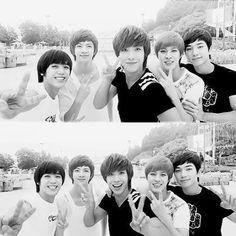 MBLAQ Seungho, G.O, Lee Joon, Cheondung, and Mir