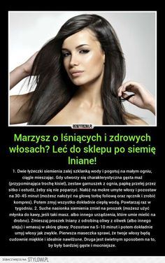 Stylowi.pl - Odkrywaj, kolekcjonuj, kupuj Healthy Beauty, Healthy Hair, Health And Beauty, Beauty Care, Beauty Hacks, Beauty Tips, Hair Tattoos, Natural Cosmetics, Hair Care Tips