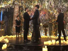 Love is a journey. Behind the scenes of wedding. Malec, Magnus E Alec, Alisha Wainwright, Matthew Daddario, Wedding Scene, Alec Lightwood, The Dark Artifices, The Infernal Devices, Shadow Hunters