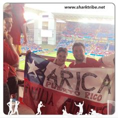 This pic is from the Soccer World Cup 2014 at the Arena Pantanal Stadium in Cuiabá, Brasil. Game: Chile-Australia. ~Lolita Shark~
