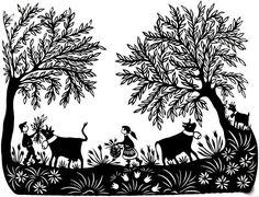 découpage Cow Pattern, Moroccan Decor, Painting Patterns, Diamond Are A Girls Best Friend, Graphic, Paper Cutting, Folk Art, Decoupage, Moose Art