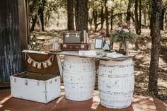 Romantic Rustic Wedding in Temple - Love & Lavender