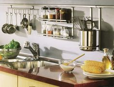 A variety of storage systems for the kitchen-9