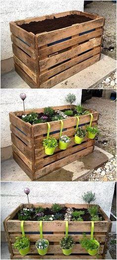 Geben Ihrem Garten ein kleines Extra mit diesen erhöhten Pflanzen- und Blumenkästen. Nummer 5 ist sehr schön! - DIY Bastelideen